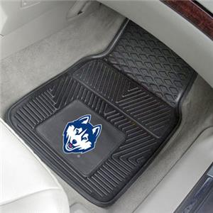 Fan Mats University of Connecticut 2-Piece Car Mat