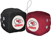 BSI NFL Kansas City Chiefs Fuzzy Dice