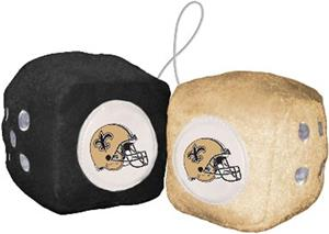 BSI NFL New Orleans Saints Fuzzy Dice