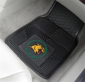 Fan Mats Northern Michigan Univ. 2-Piece Car Mat