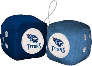 BSI NFL Tennessee Titans Fuzzy Dice
