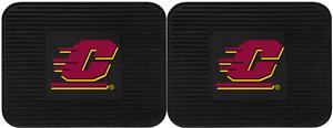 Fan Mats Central Michigan Univ. Vinyl Utility Mat