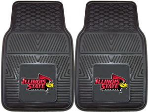 Fan Mats Illinois State University 2-Piece Car Mat