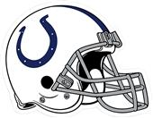 "BSI NFL Indianapolis Colts 12"" Die Cut Car Magnet"