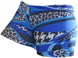Gem Gear Compression Royal Mamba Shorts