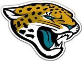 """BSI NFL Jacksonville Jaguars 12"""" Logo Car Magnet"""