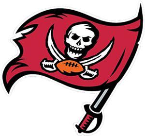"BSI NFL Tampa Bay Buccaneers 12"" Logo Car Magnet"