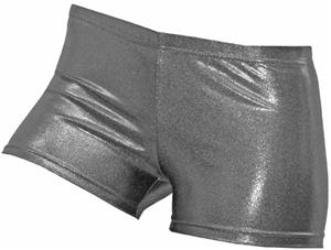 Gem Gear Compression Gunmetal Grey Metallic Shorts