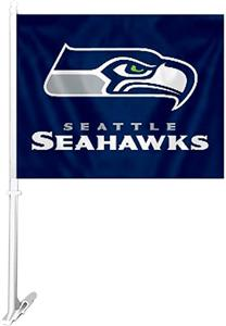 "BSI NFL Seattle Seahawks 2-Sided 11""x14"" Car Flag"