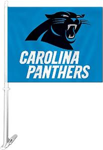 "BSI NFL Carolina Panthers 2-Sided 11""x14"" Car Flag"