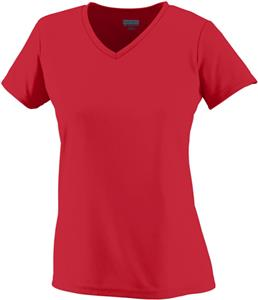 Augusta Ladies Girls Wicking T-Shirt