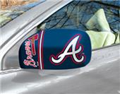 Fan Mats Atlanta Braves Small Mirror Cover