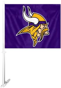 "BSI NFL Minnesota Vikings 2-Sided 11""x14"" Car Flag"