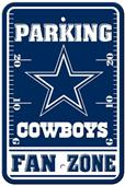 BSI NFL Dallas Cowboys Fan Zone Parking Sign