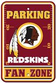 BSI NFL Washington Redskins Fan Zone Parking Sign