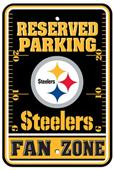 BSI NFL Pittsburgh Steelers Fan Zone Parking Sign