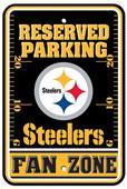 BSI NFL Pittsburgh Steelers Fan Zone Parking Sign