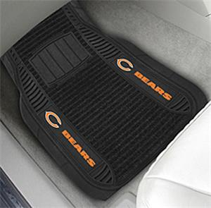 Fan Mats Chicago Bears Deluxe Car Mats