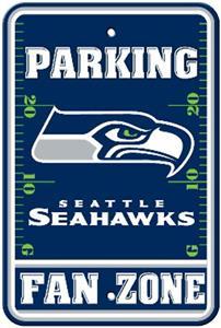 BSI NFL Seattle Seahawks Fan Zone Parking Sign