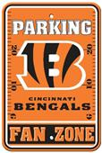 BSI NFL Cincinnati Bengals Fan Zone Parking Sign