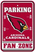 BSI NFL Arizona Cardinals Fan Zone Parking Sign