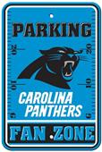 BSI NFL Carolina Panthers Fan Zone Parking Sign
