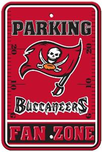 BSI NFL Tampa Bay Buccaneers Fan Zone Parking Sign