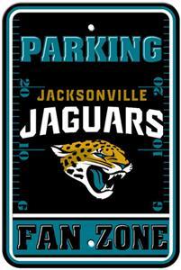 BSI NFL Jacksonville Jaguars Fan Zone Parking Sign