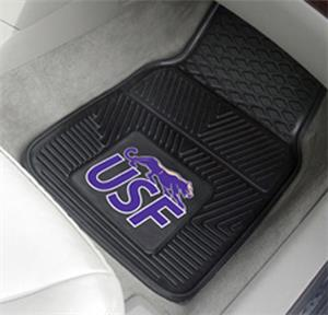 Fan Mats University of Sioux Falls 2-Piece Car Mat