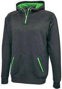 Pennant Fleece Zipline 1/4 Zip Fadeout Hoodies