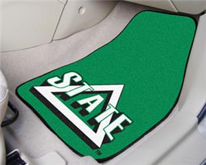Fan Mats Delta State University Carpet Car Mats