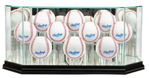 "Perfect Cases ""10 Baseball"" Octagon Display Cases"