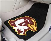 Fan Mats Quincy University Carpet Car Mats (set)