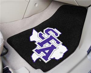 Fan Mats Stephen F. Austin State Carpet Car Mats