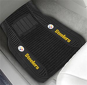 Fan Mats Pittsburgh Steelers Deluxe Car Mats