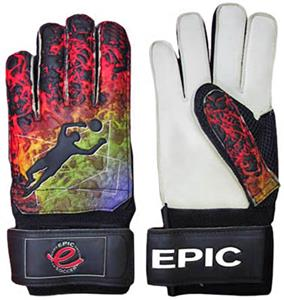 Hot Lava (Finger-Protected) Soccer Goalie Gloves