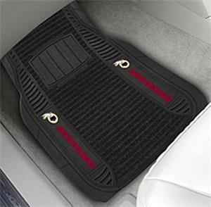 Fan Mats Washington Redskins Deluxe Car Mats