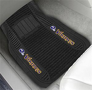 Fan Mats Minnesota Vikings Deluxe Car Mats