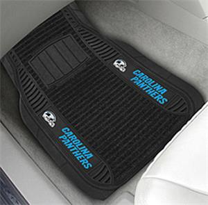 Fan Mats Carolina Panthers Deluxe Car Mats