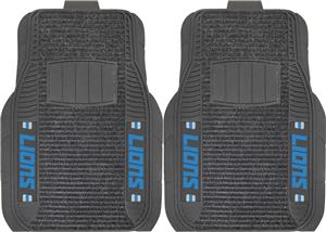 Fan Mats Detroit Lions Deluxe Car Mats