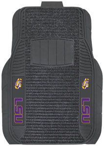 Fan Mats Louisiana State University Deluxe Car Mat