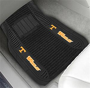Fan Mats Univ. of Tennessee Deluxe Car Mats (set)