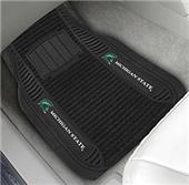 Fan Mats Michigan State Univ Deluxe Car Mats (set)
