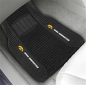 Fan Mats University of Iowa Deluxe Car Mats