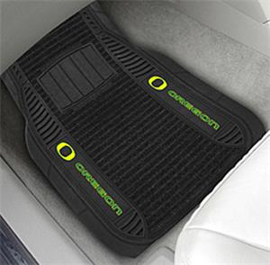 Fan Mats Univ. of Oregon Deluxe Car Mats (set)
