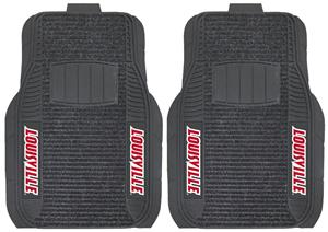 Fan Mats University of Louisville Deluxe Car Mats