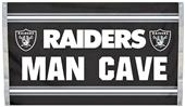 BSI NFL Oakland Raiders Man Cave 3' x 5' Flag