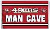 BSI NFL San Francisco 49ers Man Cave 3' x 5' Flag