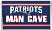 BSI NFL New England Patriots Man Cave 3' x 5' Flag