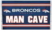 BSI NFL Denver Broncos Man Cave 3' x 5' Flag
